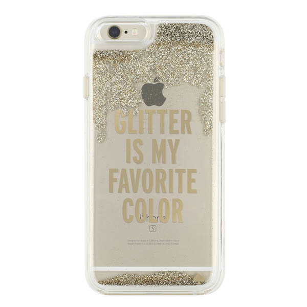 Kate Spade Iphone6 Gold Glitter (SKU 1016847941)