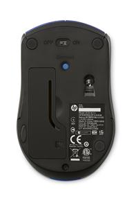 HP X3000 WIRELESS MOUSE COBALT