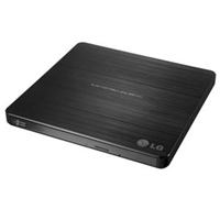Lg External Slim Dvdrw Black
