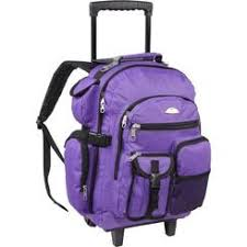 Everest 5045 Backpack Wheels Purple (SKU 1019371652)