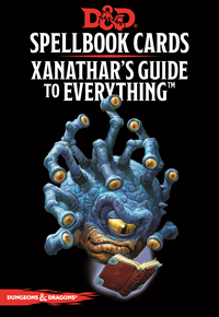 D&D Cards: Xanathars Guide To Everything Deck